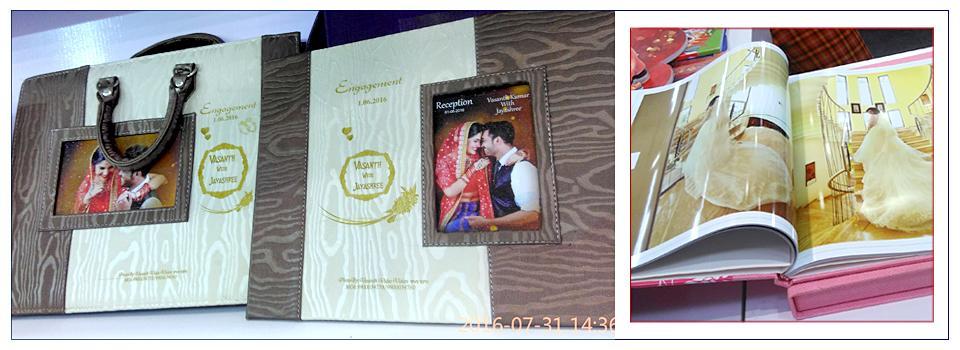 Mumbai Indian Wedding Photo Book Samples